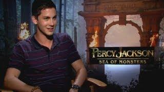 LOGAN LERMAN Talks Percy Jackson: Sea Of Monsters, Selena