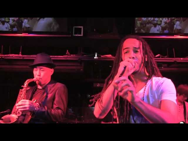 "KES performing ""Let Me Know"" - Trini Love For Japan 2011"