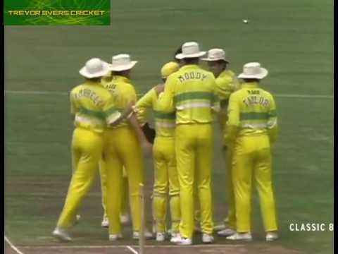 AUSTRALIA vs  PAKISTAN 1989 World Series   2nd FINAL HIGHLIGHTS