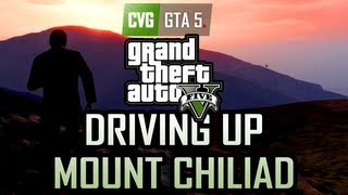 GTA 5 Gameplay Driving Up Mount Chiliad