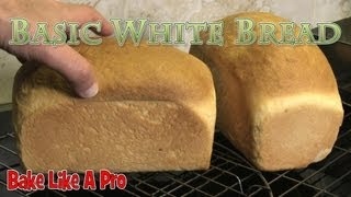 Cooking | How To Make Basic White Bread PART 1 | How To Make Basic White Bread PART 1
