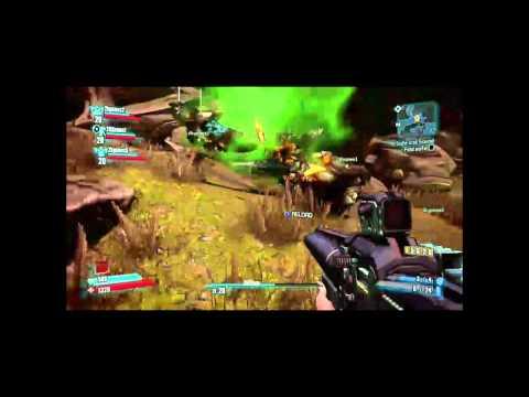 Геймплейное видео Borderlands 2 с выставки PAX East 2012