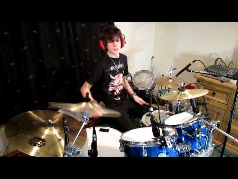 Falling In Reverse Fashionably Late Drum Cover Ed Williams Drum Cover