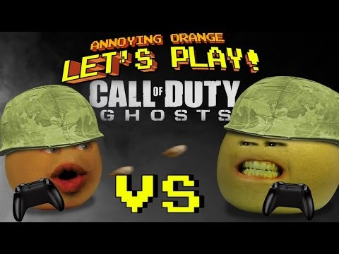 Annoying Orange Let's Play! - Call of Duty Ghosts (Orange vs Grapefruit),