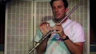 """Flute Lesson How To Play The """"C"""" Note With Fingering"""