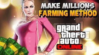 GTA 5 Online How To Make Money Fast / Easy ! New Insane