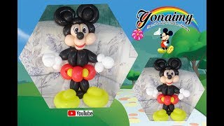 COMO HACER A MICKEY MOUSE (EN UN SOLO TUTORIAL). HOW TO