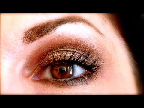 Maquillage naturel smoky eyes neutres avec mac satin taupe youtube - Maquillage smoky eyes ...