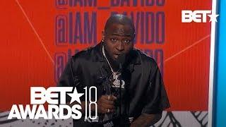 Davido Wins Award for Best International Act for Nigeria! | BET Awards 2018