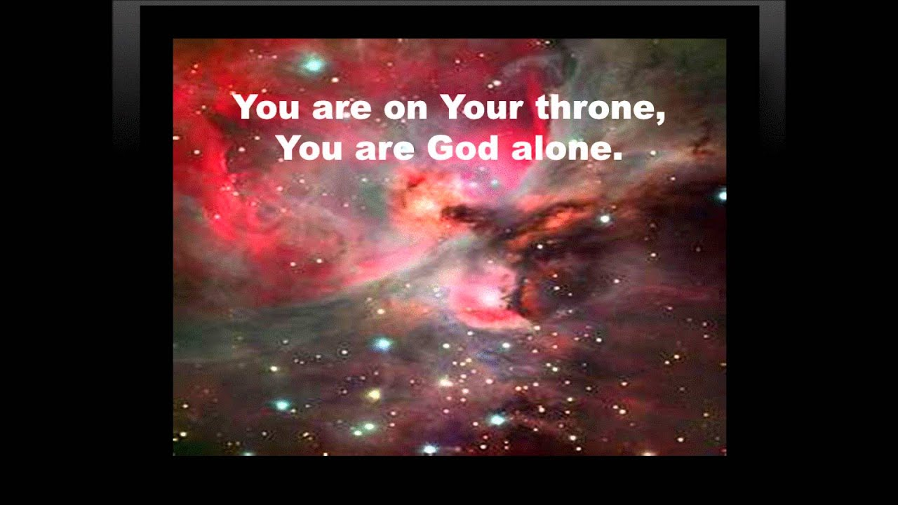 You are god alone marvin sapp with lyrics youtube