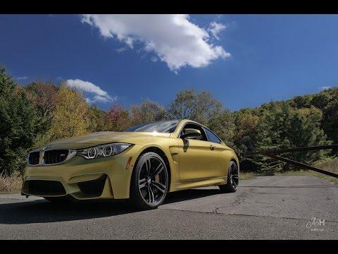 2014 BMW M4 Backroad Driving