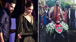 Yuvraj Singh's ATV bike & Anushka Virat's dance are a must..