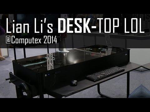 Desk Chassis from Lian Li! - Computex 2014