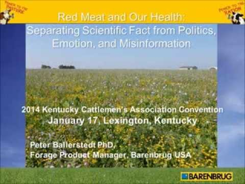 """Red Meat and Our Health: Separating Scientific Fact from Politics, Emotion, and Misinformation"""