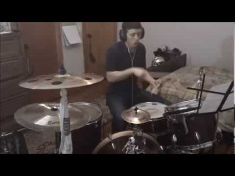 Alex Crockett- Drums- Chart Tracking with Funk Solo. Audition Video (#5)