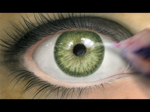 Coloring Tutorial: Realistic Eye