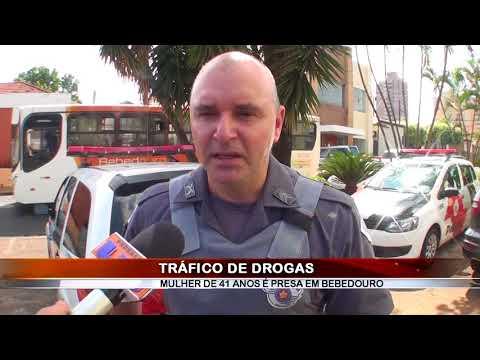 12/01/2018 - Mulher de 41 anos é presa por tráfico de drogas em Bebedouro