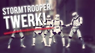 Star Wars Dance Party: Stormtrooper Twerking