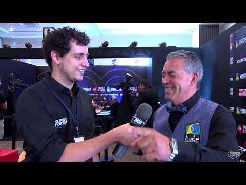 BSOP 100 - Entrevista com Tininho, dealer que participou das 100 etapas