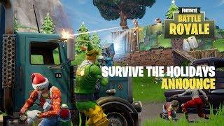 Fortnite - Survive the Holidays (Battle Royale) Bejelentés Trailer