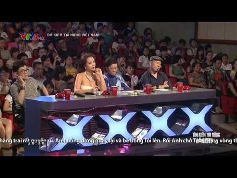 Vietnam's Got Talent 2014: Caroline Boisvert - I See My Guy - Tập 1 - Ngày 28/09/2014