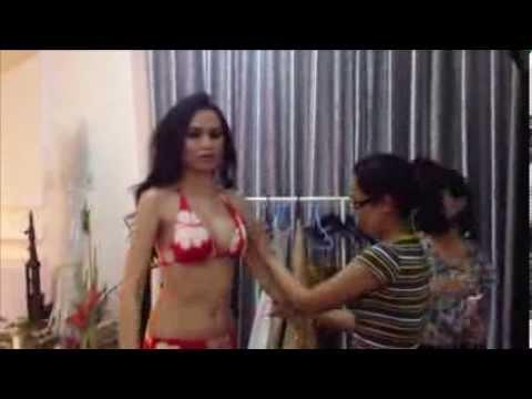 [HD] Miss Universe Vietnam 2012 - Diem Huong BIKINI chup hinh