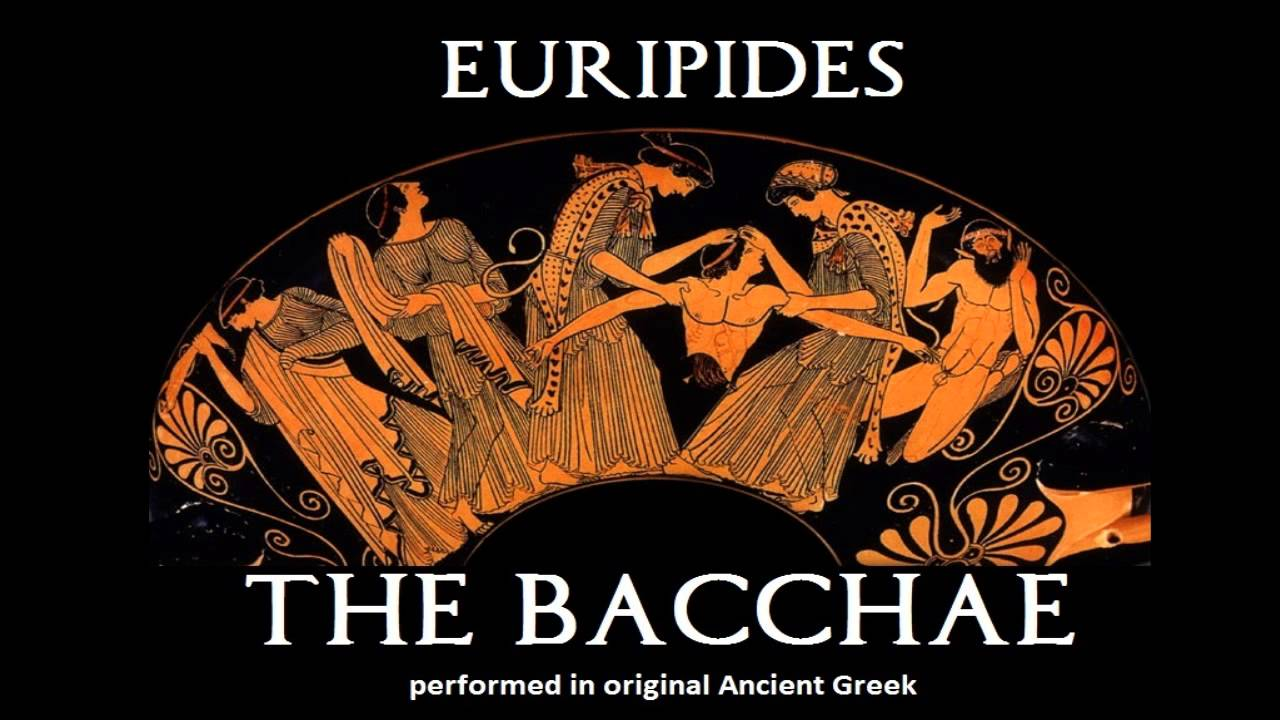 euripides bacchae The bacchae of euripides by euripides, a translation with commentary by  geoffrey s kirk, prentice hall greek drama series, 1970.