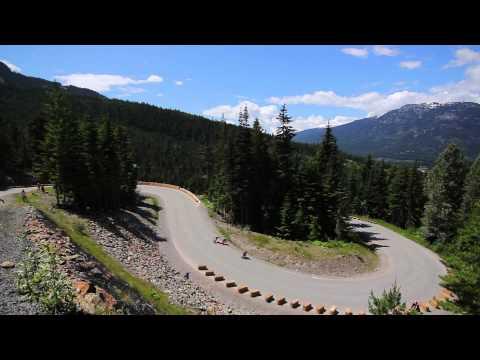 Whistler Longboard Festival 2013: Downhill Skateboarding