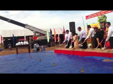 Lễ khởi công xây dựng Huyện uỷ - UBND Huyện Cờ Đỏ ngày 24/0