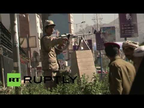 Yemen: Sanaa the scene of chaos as Defence Ministry attacked