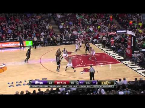 NBA HD - Sacramento Kings vs Chicago Bulls - 15 March 2014