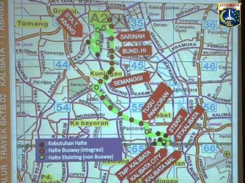 Basuki T. Purnama Paparan Dishub ttg Rencana Operasional Bus Sedang
