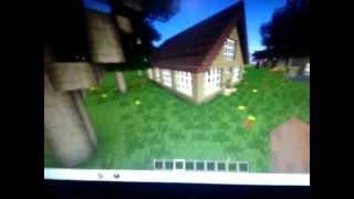 Minecraft 1.4.7 Como Hacer Una Casa Muy Bonita,Grande Y