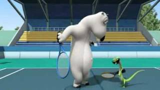 Medveď Bernard - Tenis