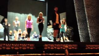 Riverdance Masterclass visit the Gaiety Theatre