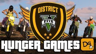 GTA 5 Online Hunger Games! Custom Map, Snipers And