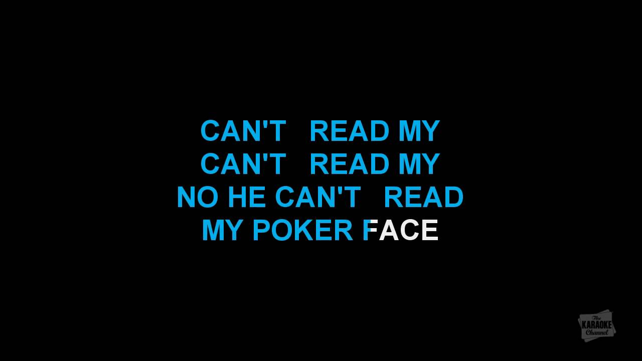 Lady gaga poker face tekst prevod