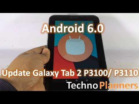 [CM13] Update Galaxy Tab 2 P3100/ P3110 in Android 6.0 Marshmallow
