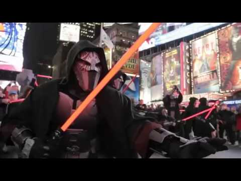 Star Wars The Old Republic - Times Square Freeze Mob3105