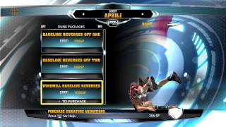 NBA 2k14 Center PF Dunk Contest And Dunks Tips