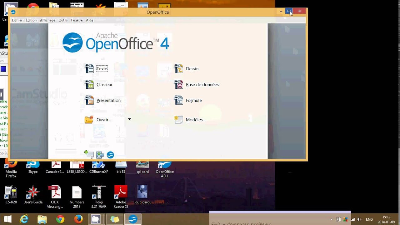 Windows 8 1 how to install free office suite open office - Open office free download for windows 8 ...