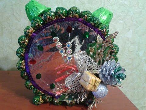 Скрапбукинг Новогодние подарки своими руками из конфет
