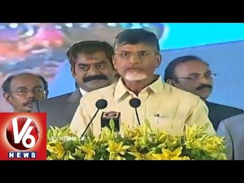 TDP chief N Chandrababu Naidu sworn in as the first chief minister of residuary Andhra Pradesh