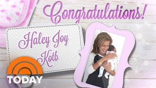 Hoda Kotb Adopts A Baby Girl: Meet Haley Joy! | TODAY