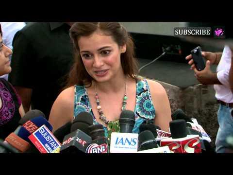 Bollywood Celebs Celebrate World Environment Day | Dia Mirza