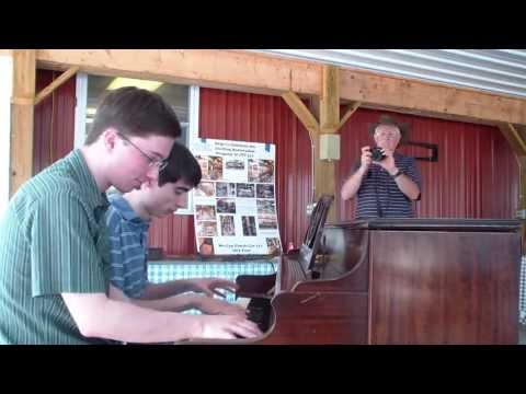 Swanson and  Mancuello |.12TH STREET RAG|Central PA Ragtime Festival|June 23 2013|Street Piano