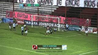Todos los goles. Fecha 8. Torneo Primera B Nacional 2014. FPT.