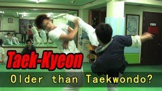 The Original Korean Martial Art Taekkyeon (Hard Korea
