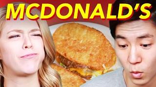 People Try Bizarre McDonald's Mashups