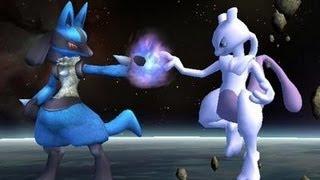 SSBB Hacks: Lucario VS Mewtwo